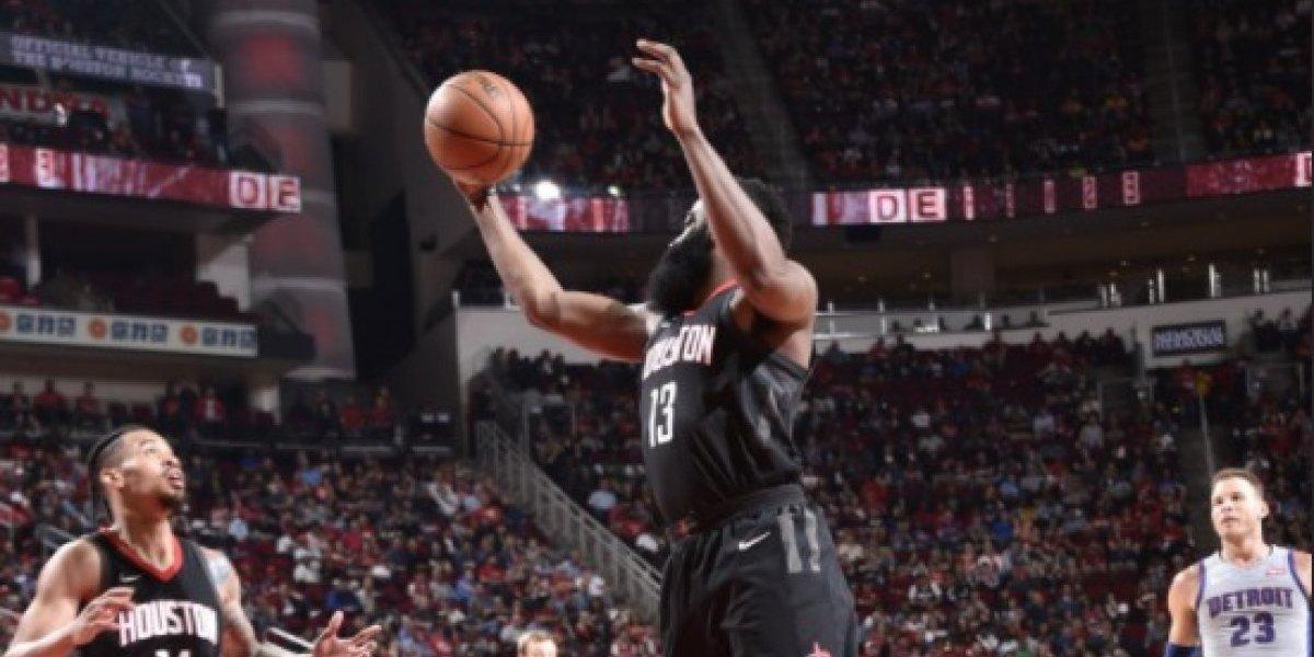 James Harden volvió a llevar al triunfo a Houston y se afirman en el liderato de la NBA