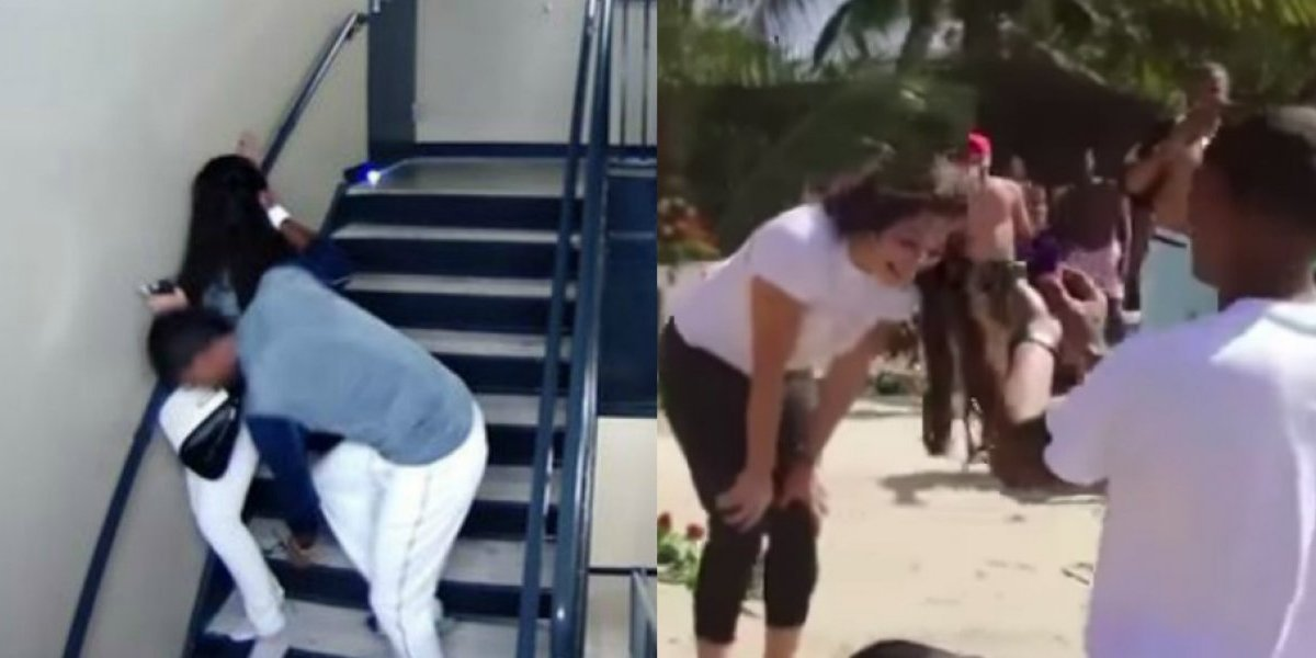 VIDEO: Beisbolista que golpeó a su novia le propone matrimonio a otra mujer