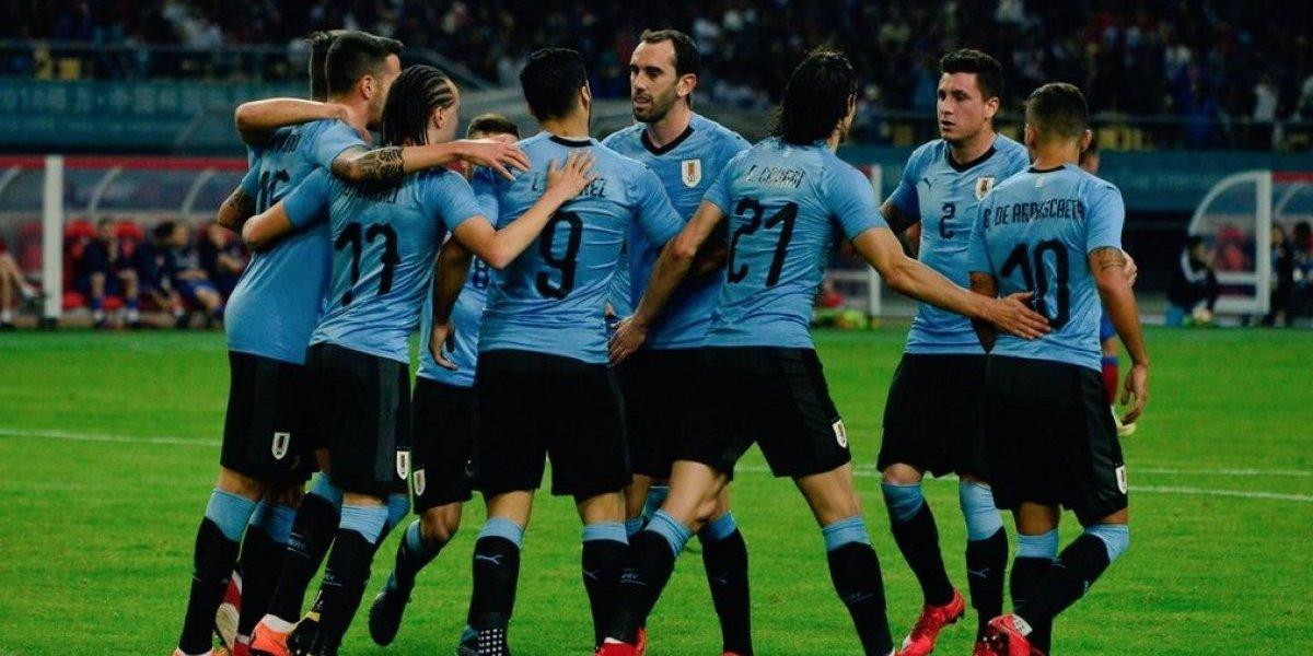 Uruguay demostró calidad para ser el favorito a quitarle el título de la China Cup a Chile