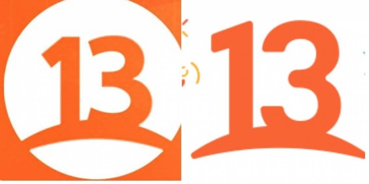 Las críticas, los halagos y los mejores memes y reacciones que dejó el nuevo logo de Canal 13