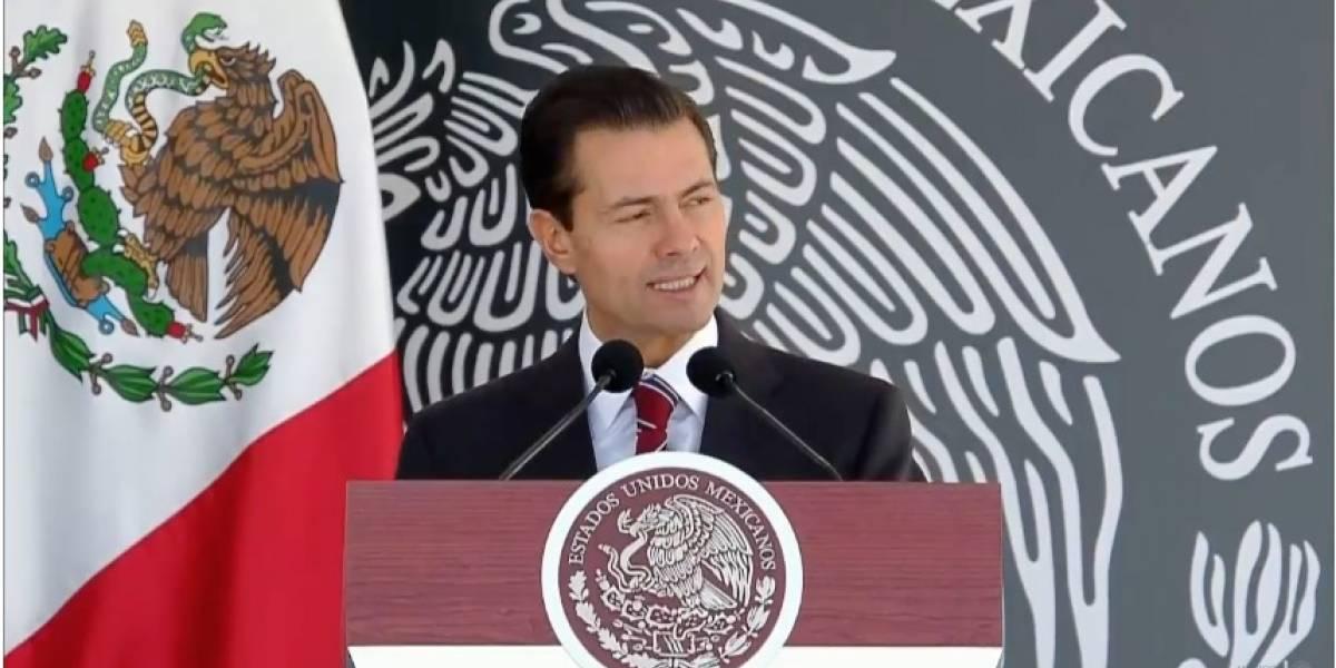 Presencia de Fuerzas Armadas seguirá donde sea necesario: Peña Nieto