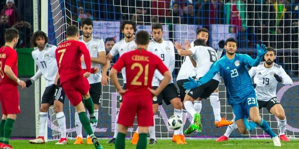 VIDEO: CR7 marca doblete en victoria de Portugal sobre Egipto