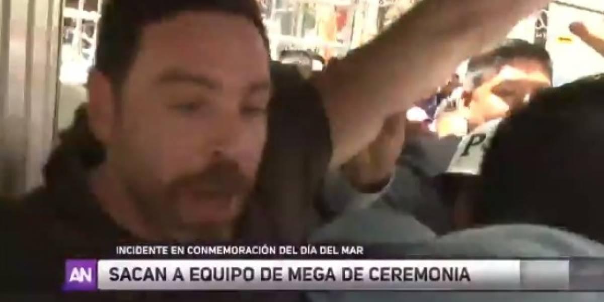 """""""Hemos sufrido hostigamiento"""": José Antonio Neme acusa empujones y agresiones mientras reporteaba el """"Día del Mar"""" en Bolivia"""