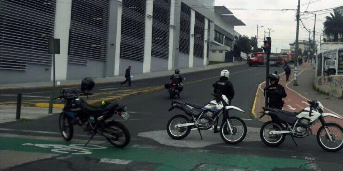 Parlamento de Ecuador entra en alerta tras una amenaza de bomba