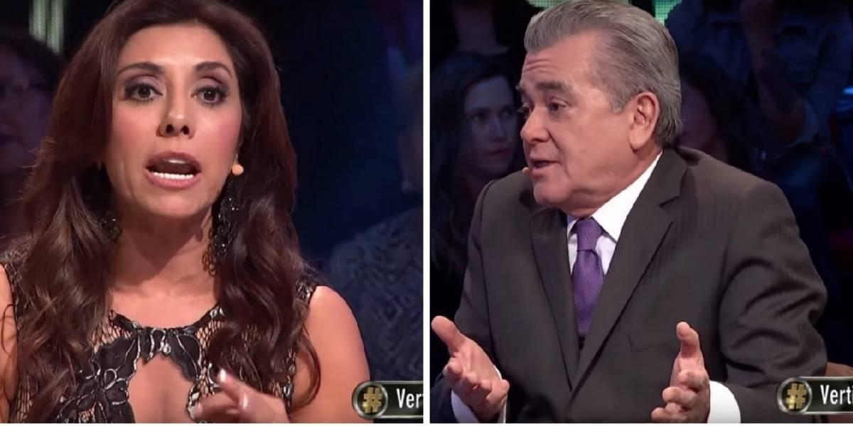 Carmen Gloria Arroyo y Hernán Calderón protagonizaron duro encuentro en