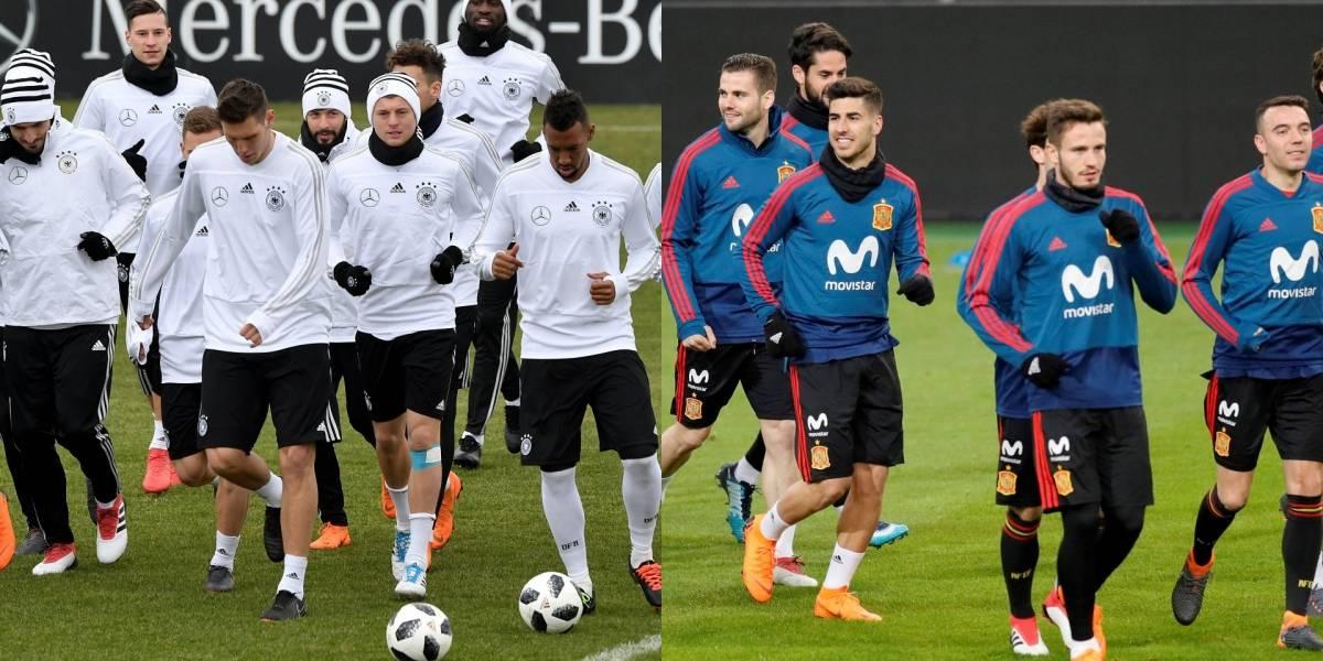 Alemania VS España, duelo de los más recientes campeones mundiales