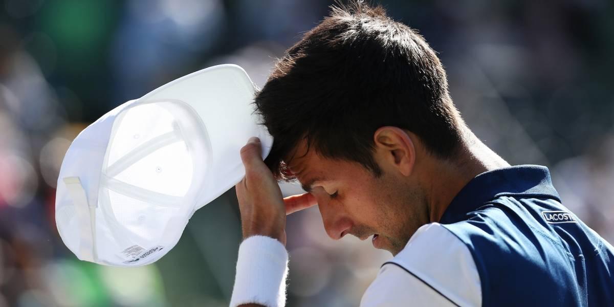 Djokovic decepciona al quedar eliminado en su debut en Miami