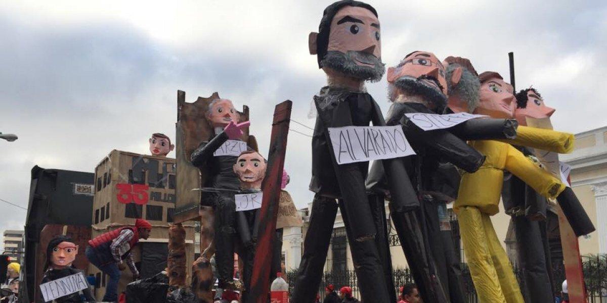 Caso Transurbano y traslado de embajada en Israel, parte de la Huelga de Dolores