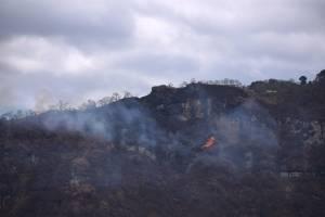 Incendios forestales en Atitlán