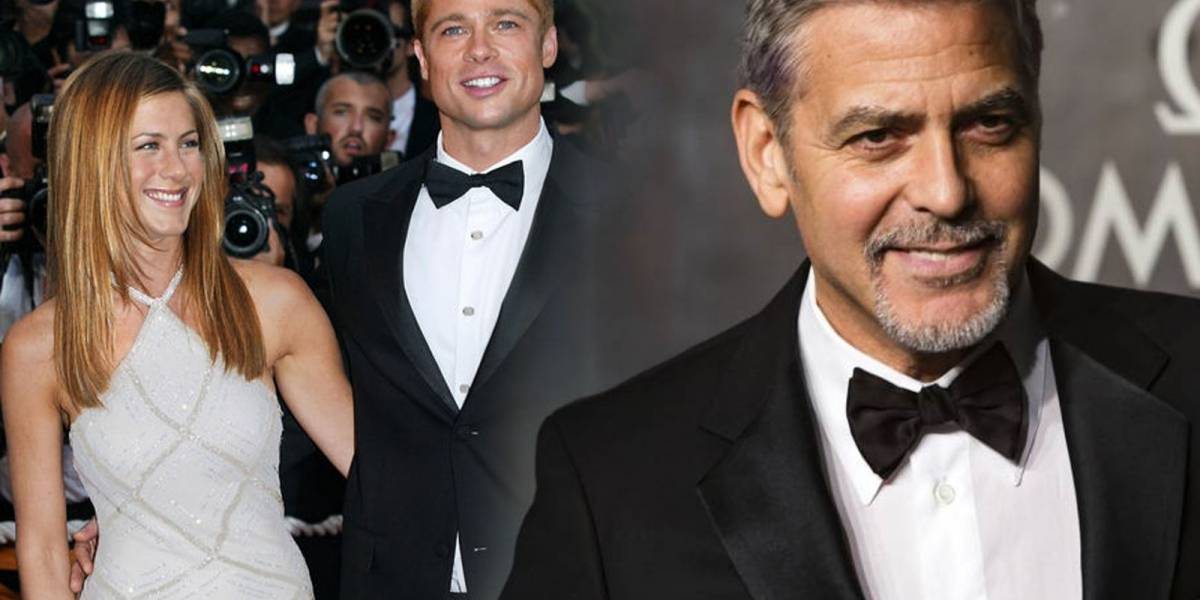 George Cooney podrías ser el responsable del regreso de Brad Pitt con Jennifer Aniston