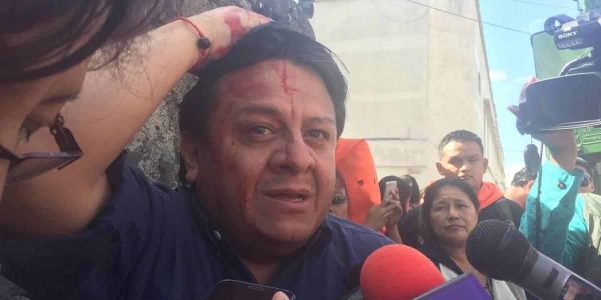 Condenan ataque contra Jorge Santos por la catalogada #HuelgaSecuestrada