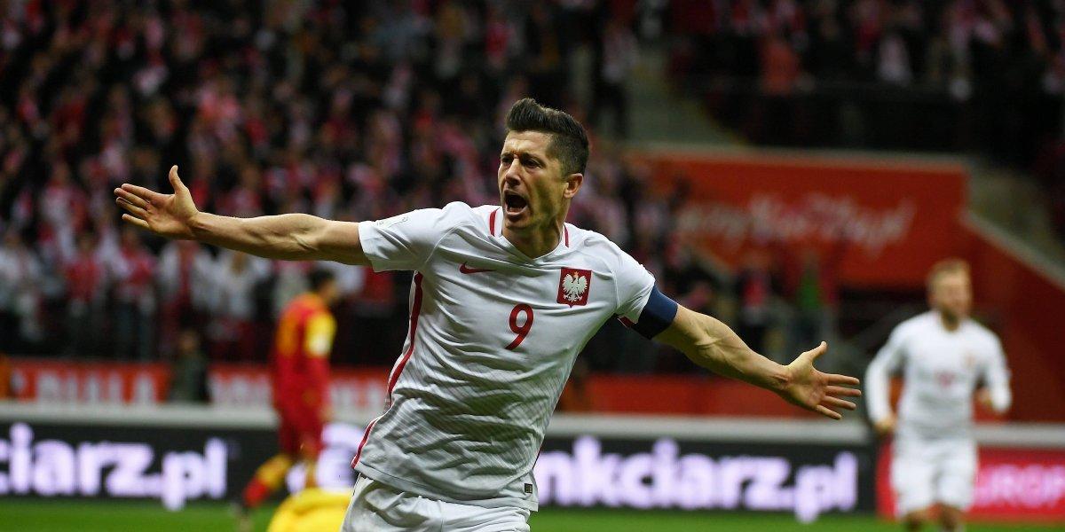 Con Lewandowski y toda la banda, Polonia se mide con Nigeria