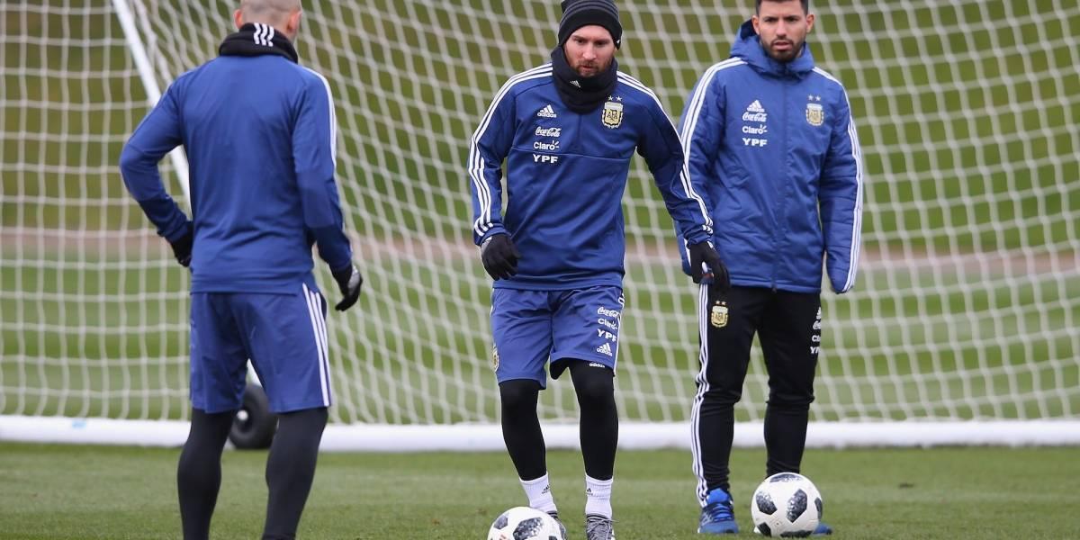 Messi enciende alarmas en Argentina y se pierde duelo ante Italia