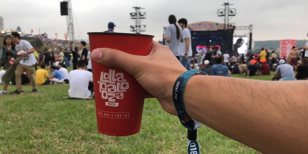 Lollapalooza 2018: pulseira ao estilo comanda é útil, mas há filas para recarregar