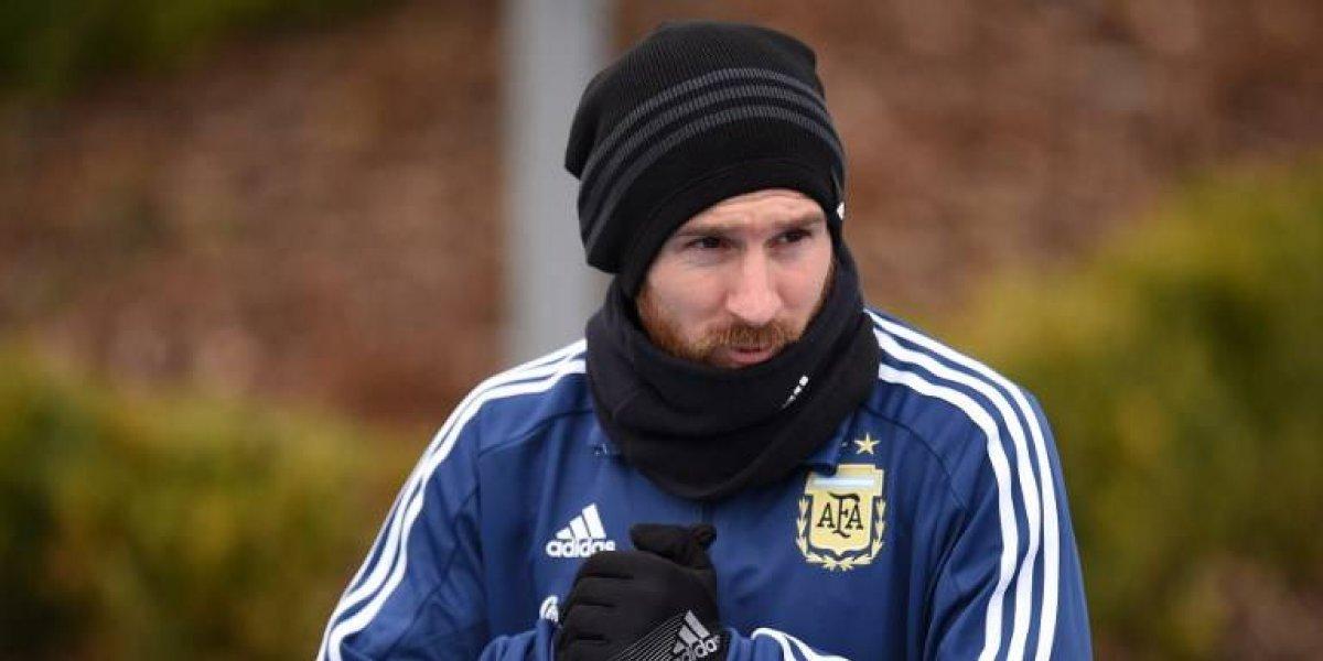 Messi es duda para el partido que Argentina sostendrá ante Italia