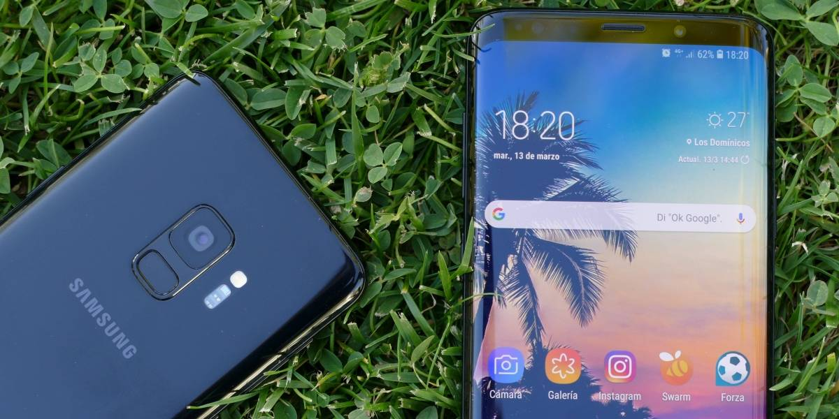 Usuarios reportan problemas con la pantalla de su Samsung Galaxy S9