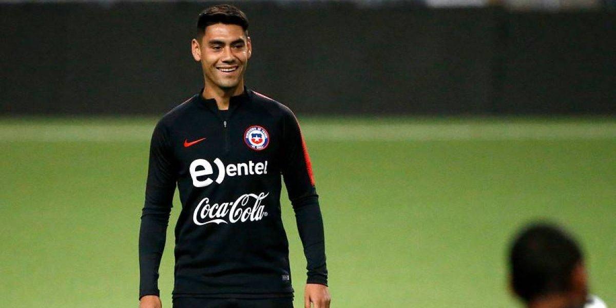 Felipe Mora se lesionó y se perderá el inicio de la era Rueda en la Roja