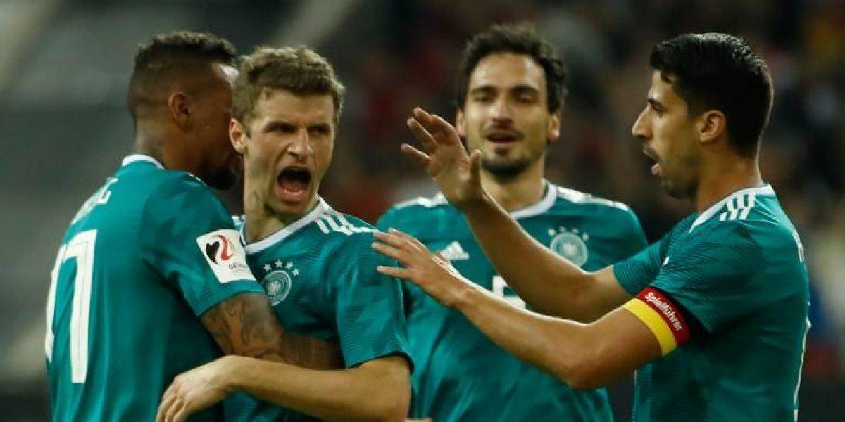 Alemania y España dan una muestra de lo que presentarán en el Mundial de Rusia