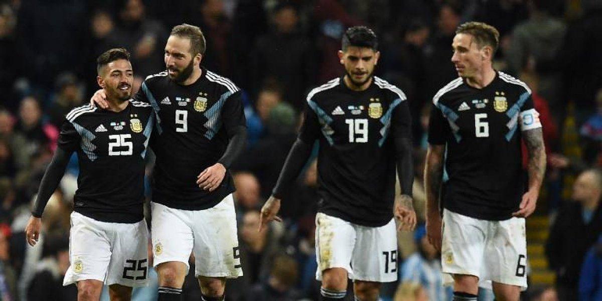 Sin Messi, Argentina celebra frente a Italia