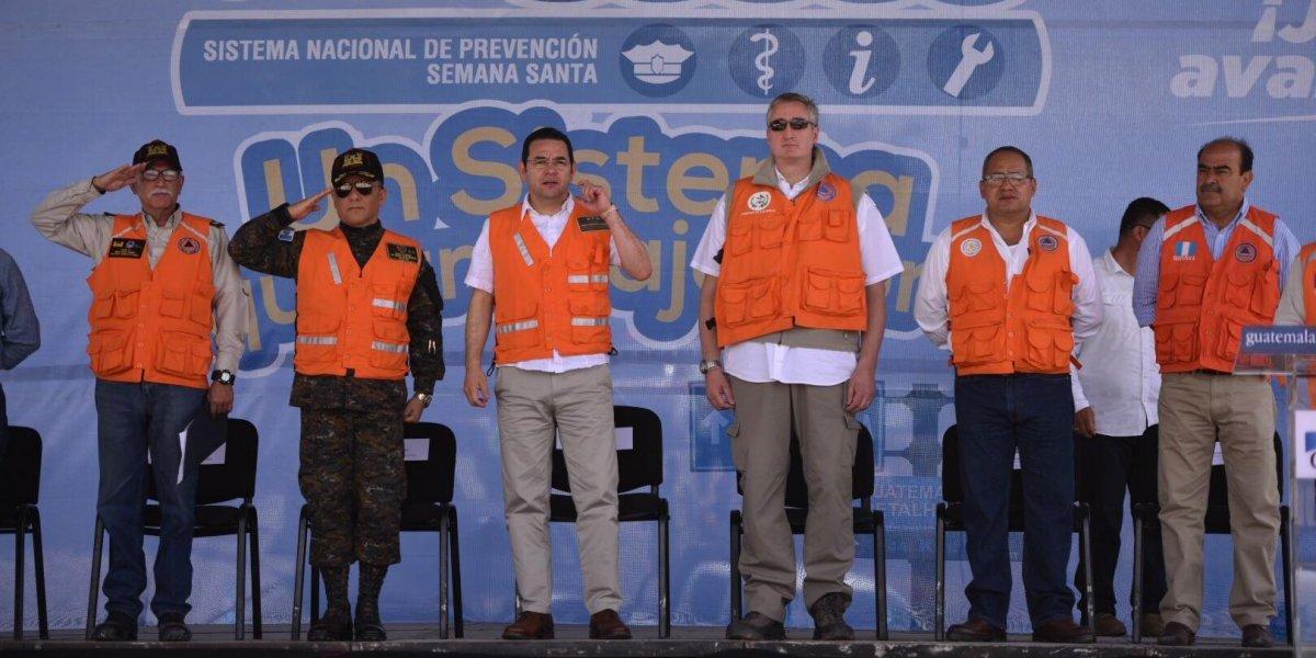Morales llama a actuar con prudencia, orden y responsabilidad para evitar incidentes en Semana Santa