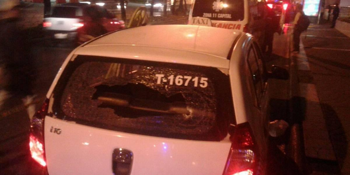 Taxista fallece tras ataque armado en bulevar Los Próceres