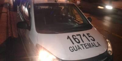taxista asesinado en zona 10