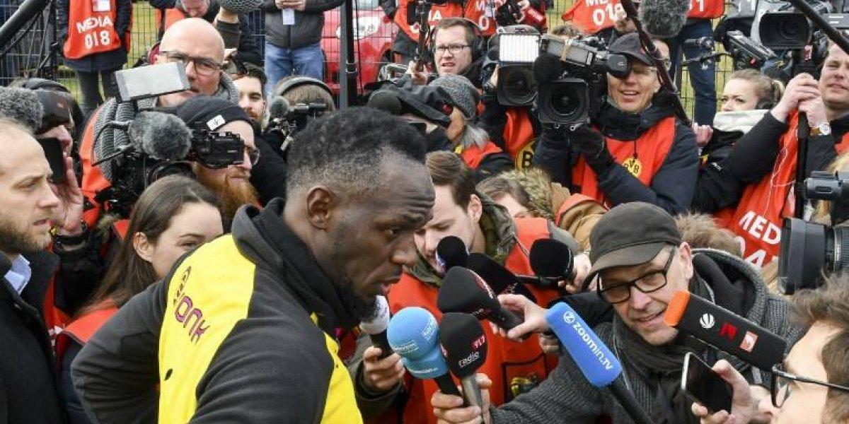 VIDEO. Usain Bolt se apuntó un gol en su primer entrenamiento con el Borussia Dortmund