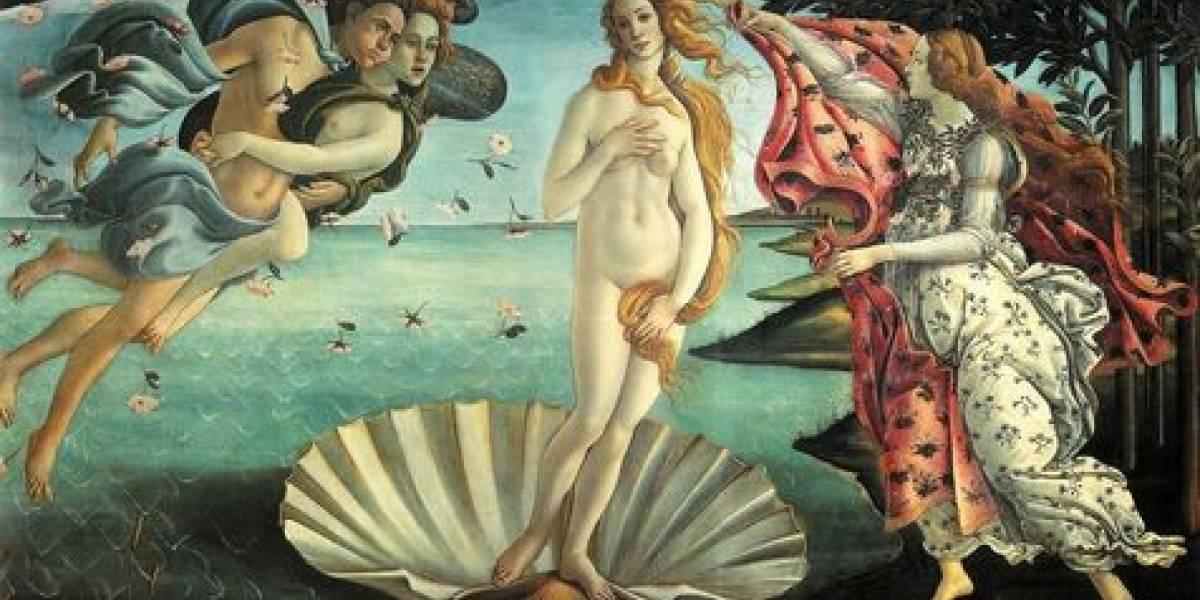 'O Nascimento de Vênus', de Botticelli, esconde anatomia da vida