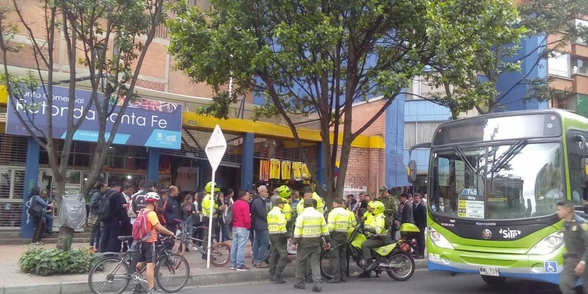 Dos mujeres heridas tras balacera en el centro de Bogotá — VIDEOS