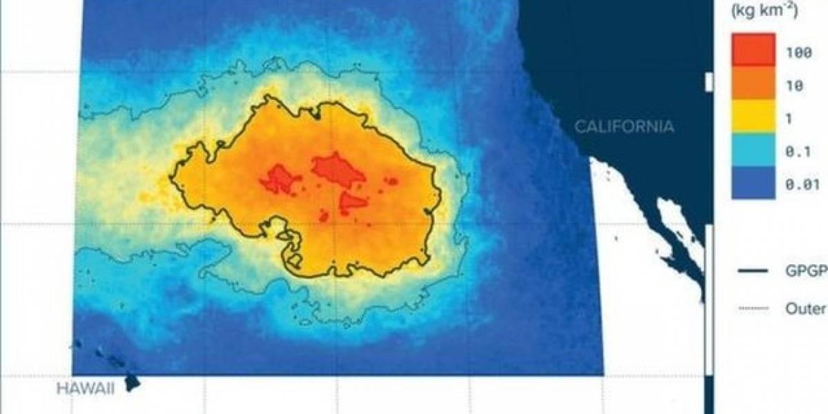 La isla de basura que triplica el tamaño de Francia