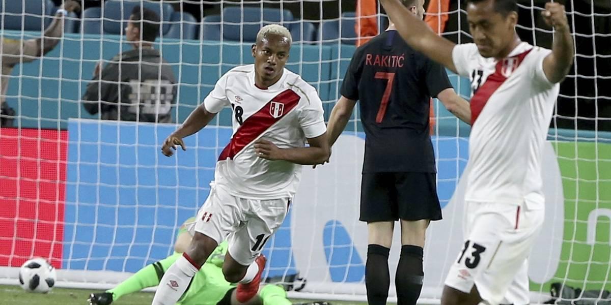 Perú derrota a Croacia y manda aviso a todos para el Mundial