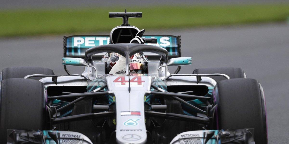 Lewis Hamilton se quedó con la primera pole del año en la Fórmula Uno