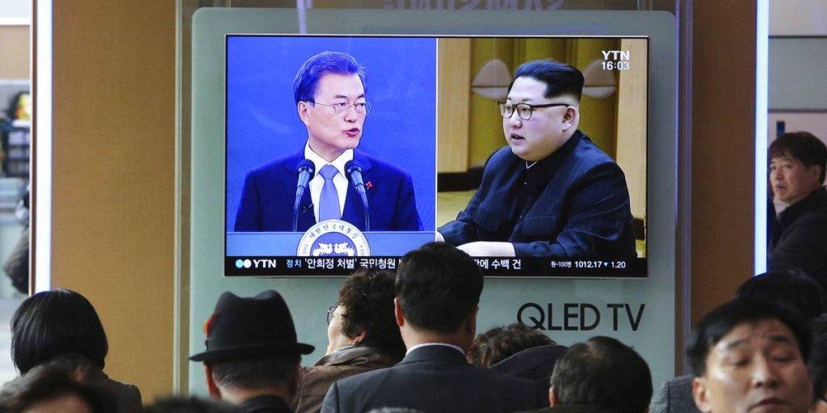 Kim Jong-un y Moon ultiman detalles para cumbre intercoreana
