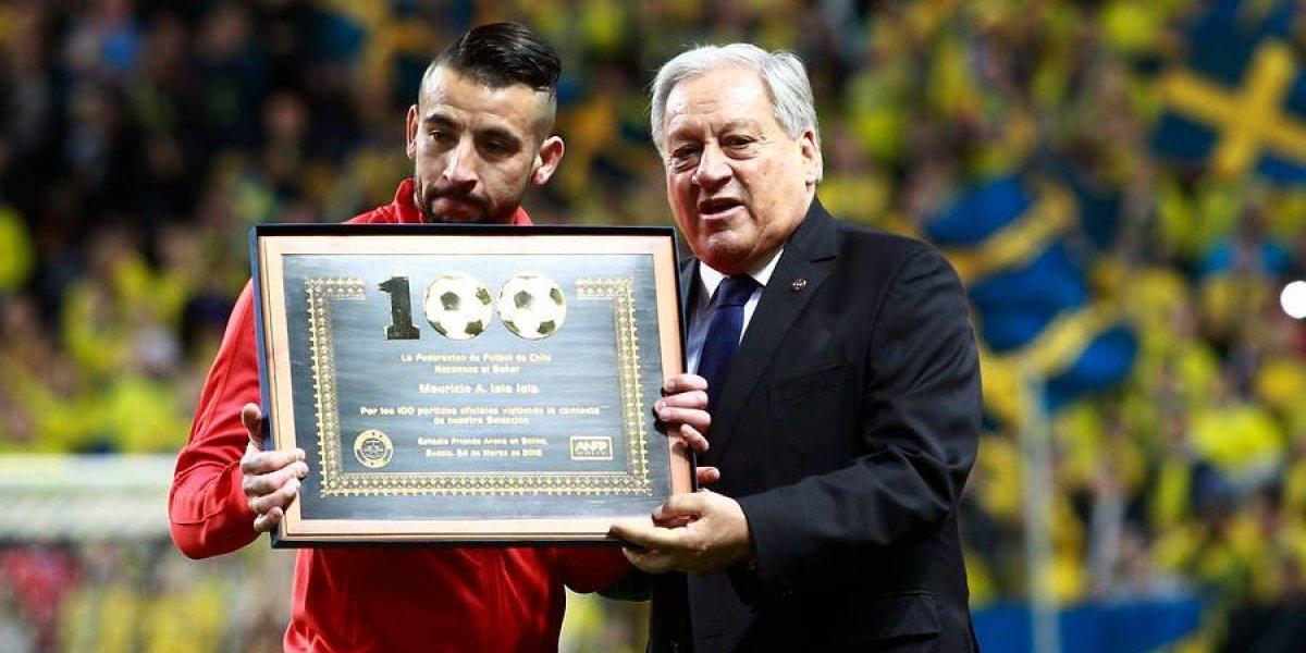 Huaso centenario: Mauricio Isla es el quinto futbolista que llega a 100 partidos en la Roja