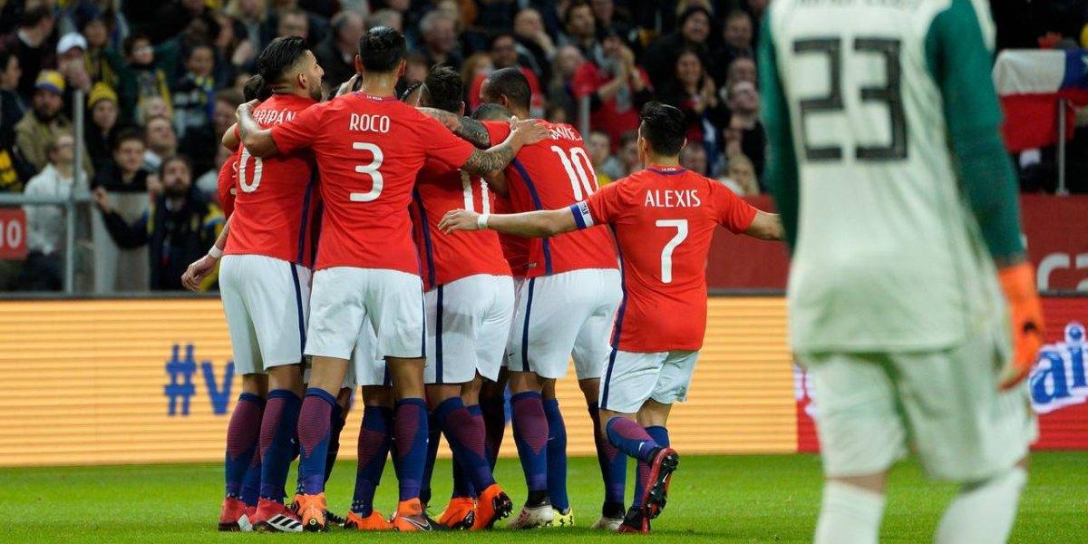 Chile aprobó el examen ante Suecia y dejó buenas sensaciones en el debut de Reinaldo Rueda
