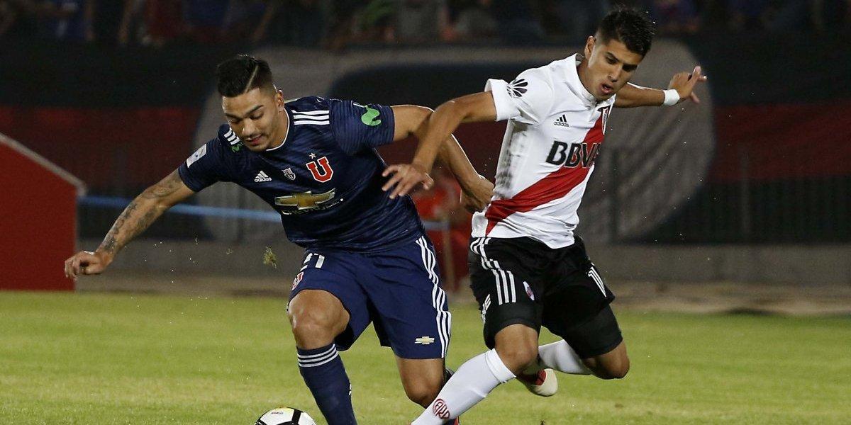 Así vivimos la derrota de la U ante River Plate por la Copa Cono Sur