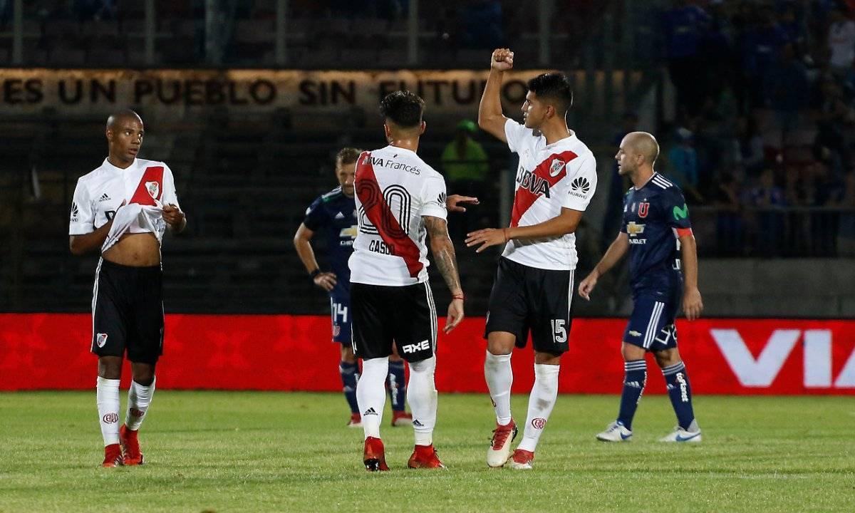 River Plate celebró en el Nacional / imagen: Agencia UNO