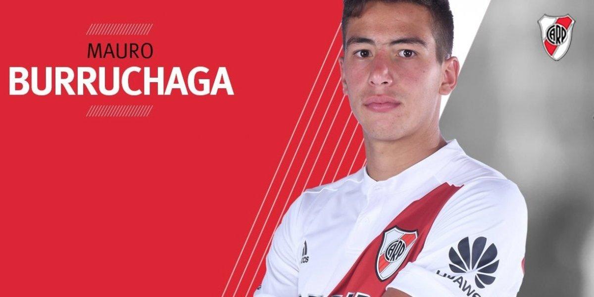 El hijo del histórico Burruchaga aprovechó el amistoso con la U para debutar en River Plate