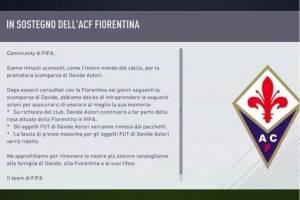 Comunicado EA Sports Davide Astori