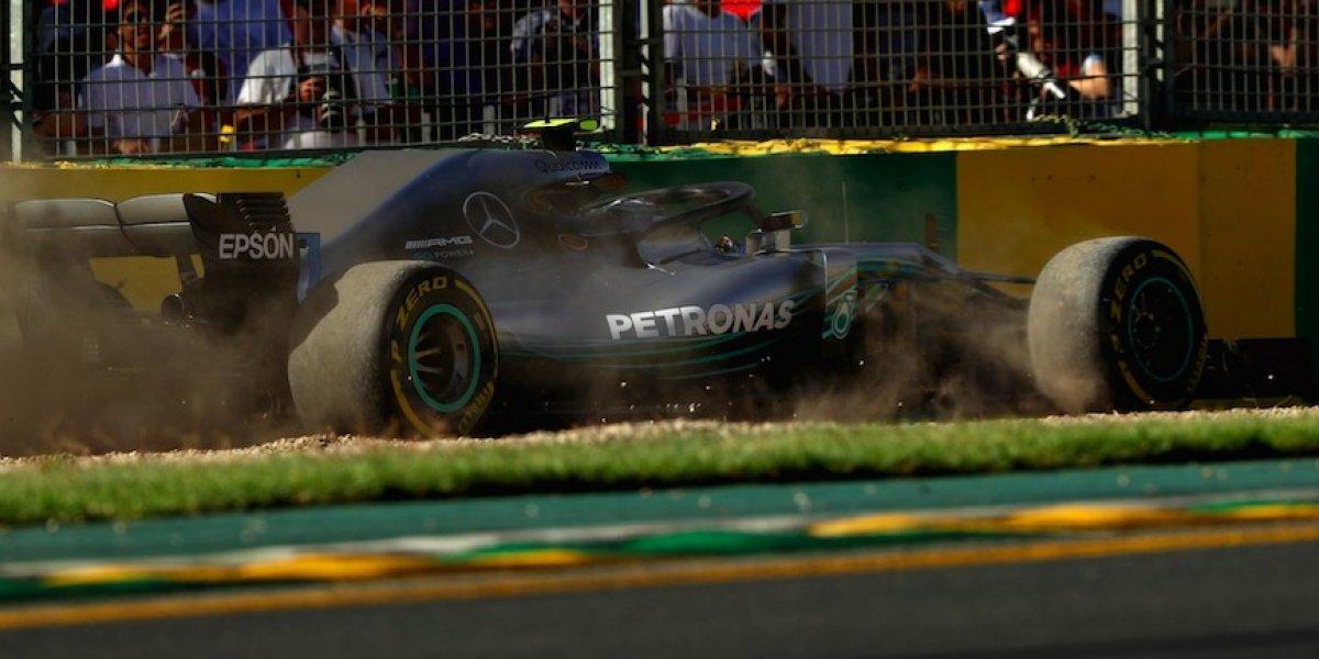 VIDEO: Valtteri Bottas sufre aparatoso accidente en el GP de Australia