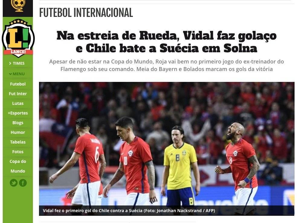 Lance de Brasil