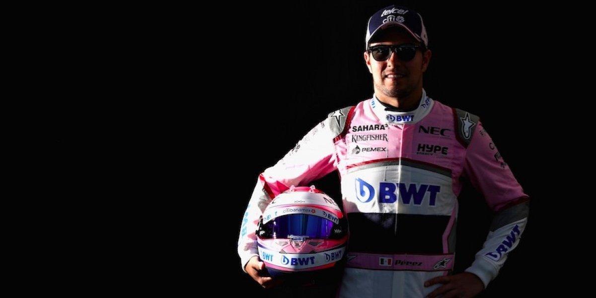 Sergio Pérez saldrá 13 en GP de Australia