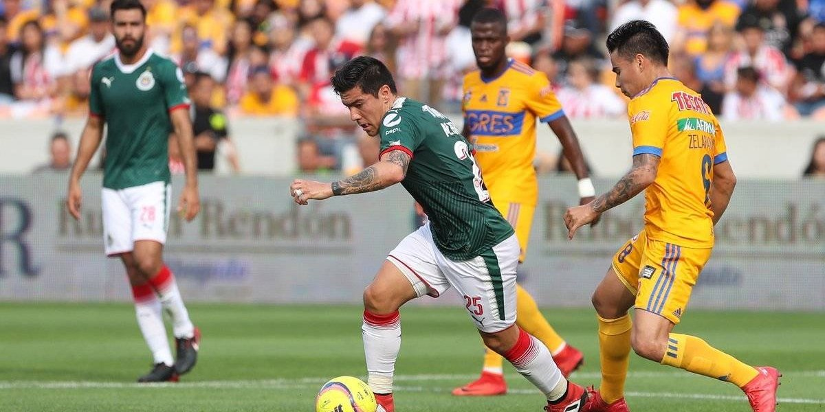 ¡No da una! Chivas cae ante Tigres en partido amistoso