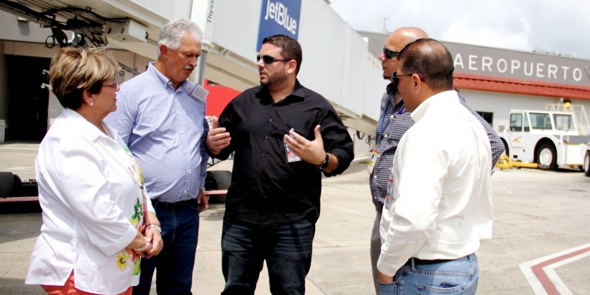 Inspeccionan el Aeropuerto Mercedita para atender deficiencias