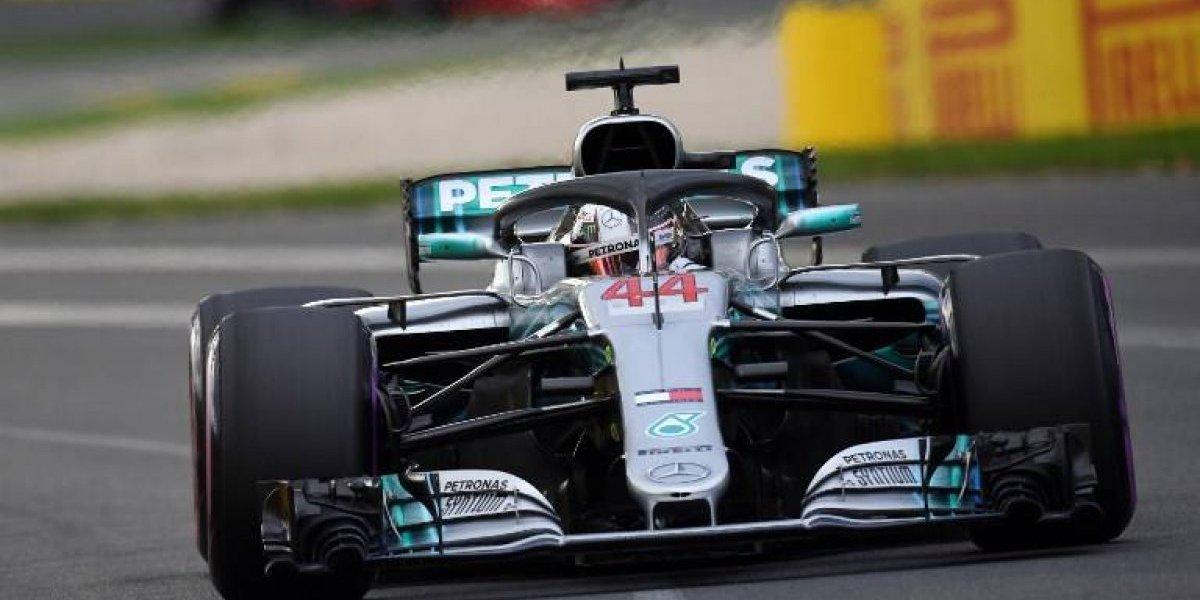 """VIDEO. La increíble velocidad que alcanzó Lewis Hamilton para ganar la """"pole"""""""