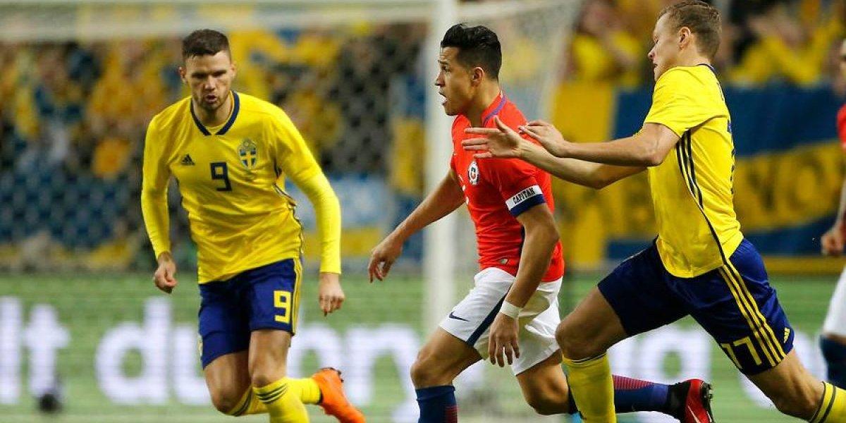 Así vivimos el triunfo de Chile sobre Suecia en el debut de Reinaldo Rueda