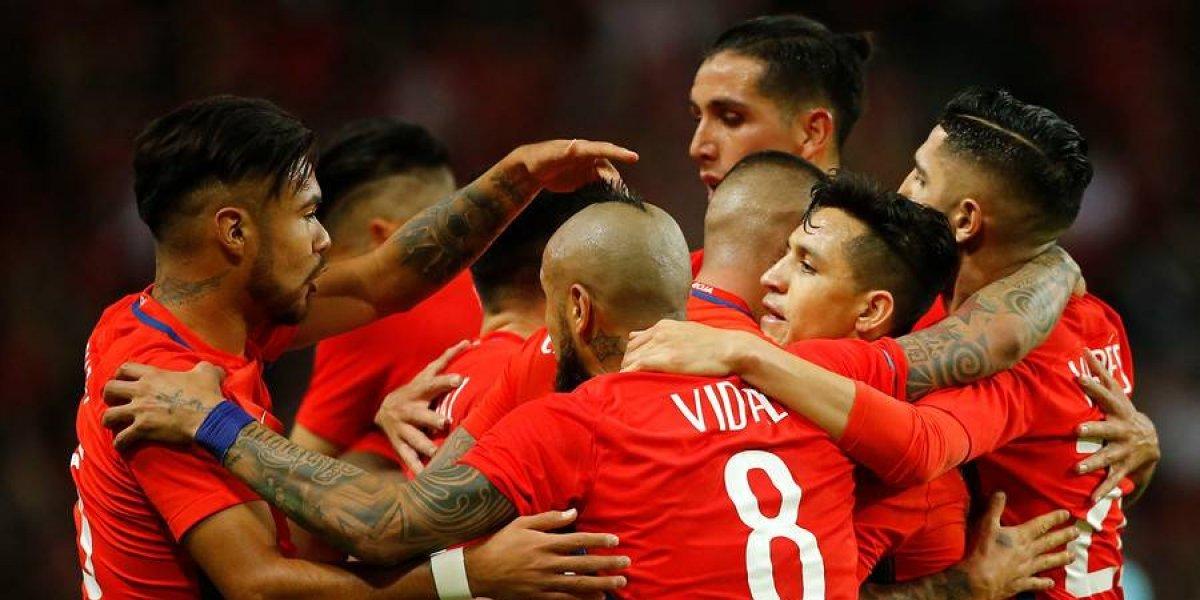 """""""Ganó el sparring"""", """"triunfo ilusionante"""": el mundo no perdió de vista el debut de Rueda en la Roja"""