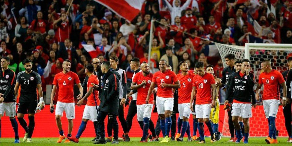 """Chile coronó la """"goleada"""" de Sudamérica a Europa"""