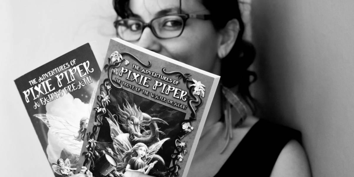Escritora boricua fomenta la lectura en los niños hasta en Europa