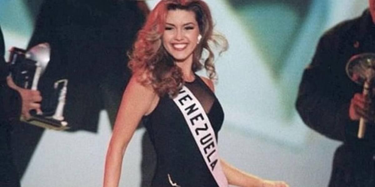 Muy afectada Alicia Machado con escándalo de las reinas